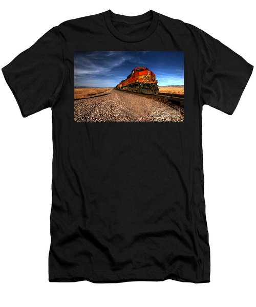 Bnsf Freight  Men's T-Shirt (Athletic Fit)
