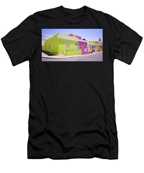 Bo Kaap Color Men's T-Shirt (Slim Fit) by Shaun Higson