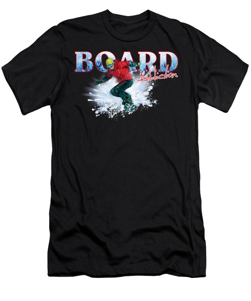 Board Addiction Men's T-Shirt (Athletic Fit)