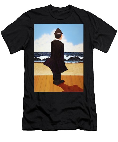 Boardwalk Man Men's T-Shirt (Athletic Fit)