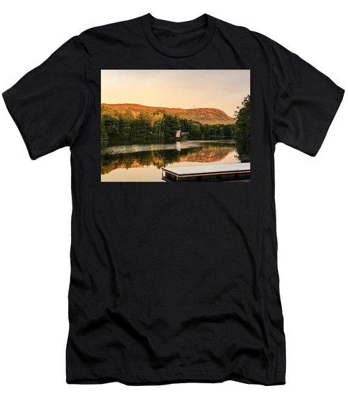Boardwalk Sunset Men's T-Shirt (Athletic Fit)