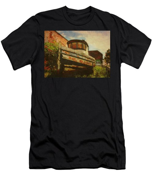 Boat At Apalachicola Men's T-Shirt (Athletic Fit)