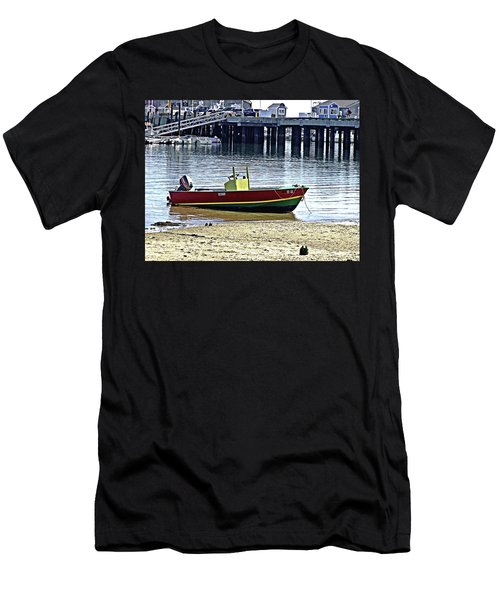 Boat At The Beach Provincetown Men's T-Shirt (Athletic Fit)