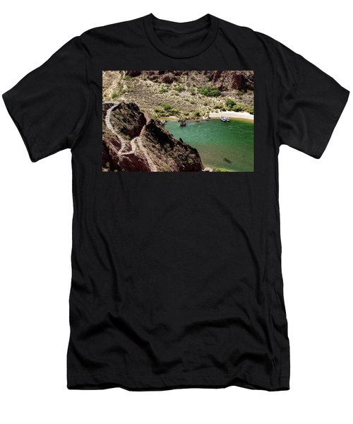 Boat Beach On The Colorado River Men's T-Shirt (Athletic Fit)