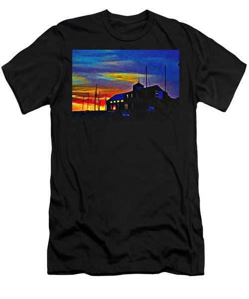 Boat Builder's Dawn Men's T-Shirt (Athletic Fit)