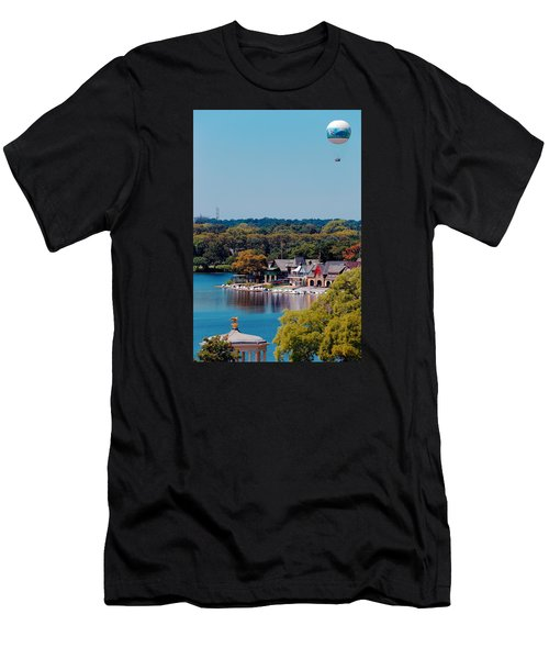 Boat House Row Men's T-Shirt (Athletic Fit)