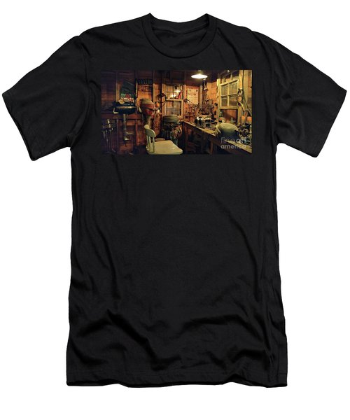 Boat Repair Shop Men's T-Shirt (Athletic Fit)