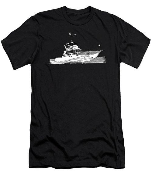 Sportfishing Men's T-Shirt (Athletic Fit)