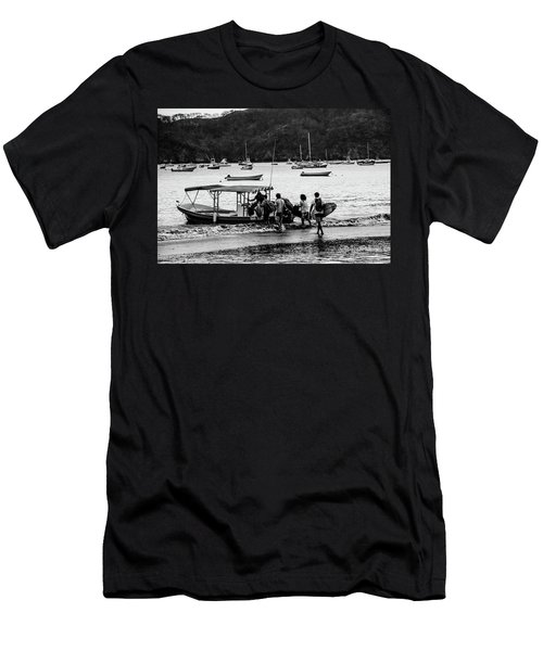 Boats And Boards  Men's T-Shirt (Athletic Fit)