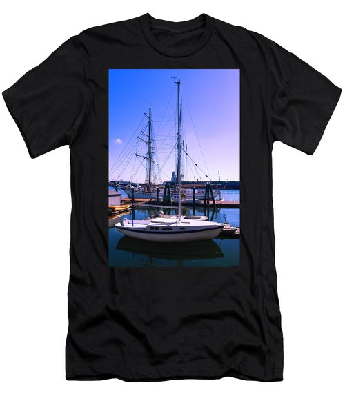 Boats And Ships Men's T-Shirt (Athletic Fit)