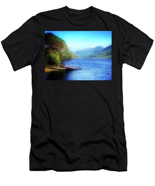Men's T-Shirt (Athletic Fit) featuring the photograph Boats At Rest by Scott Kemper