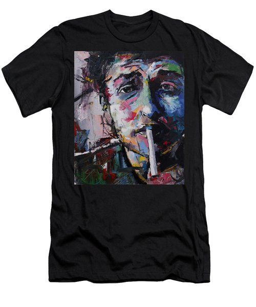 Bob Dylan Men's T-Shirt (Slim Fit) by Richard Day
