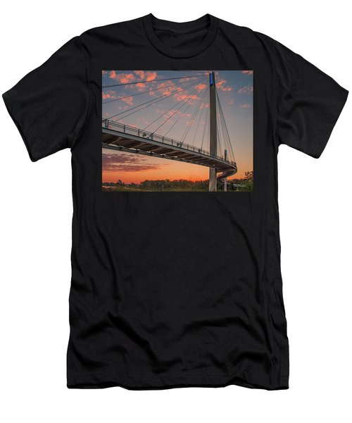 Bob Kerry Bridge At Sunrise-4 Men's T-Shirt (Athletic Fit)
