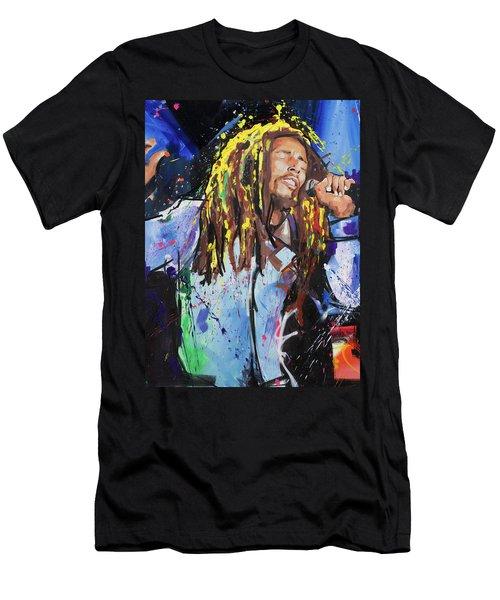 Bob Marley Men's T-Shirt (Athletic Fit)