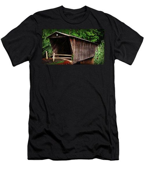 Bob White Bridge Men's T-Shirt (Athletic Fit)
