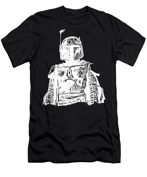 Boba Fett Tee Men's T-Shirt (Athletic Fit)