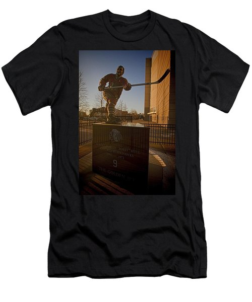 Bobby Hull Sculpture Men's T-Shirt (Athletic Fit)