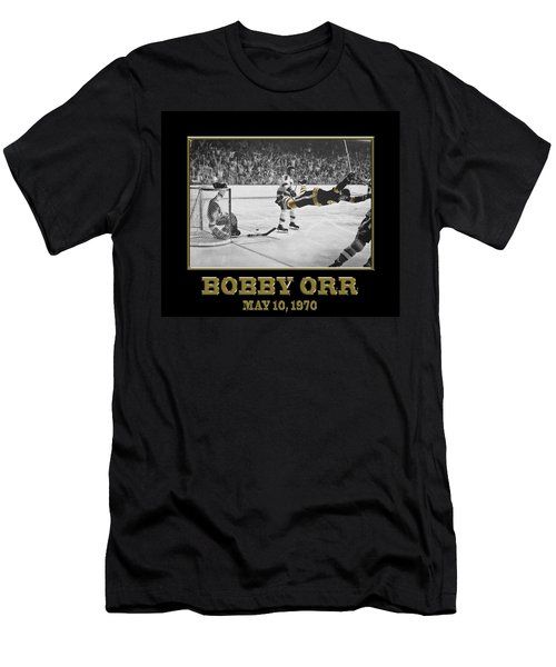 Bobby Orr 6 Men's T-Shirt (Athletic Fit)