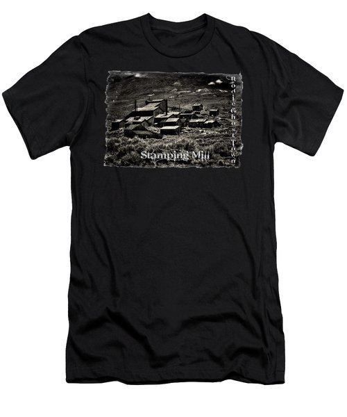 Bodie Ghost Town Stamping Mill Men's T-Shirt (Athletic Fit)