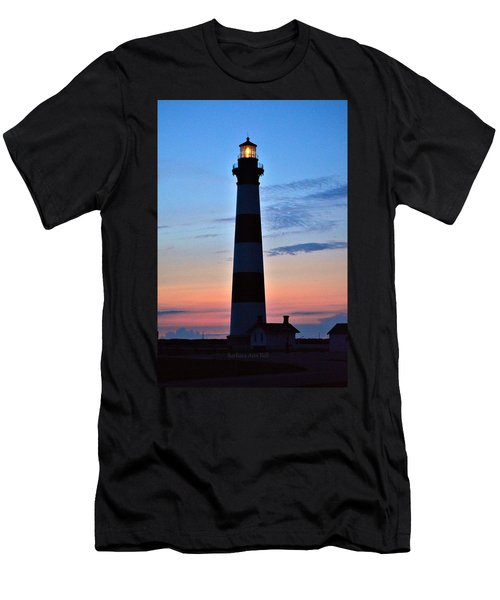 Bodie Lighthouse 7/18/16 Men's T-Shirt (Athletic Fit)