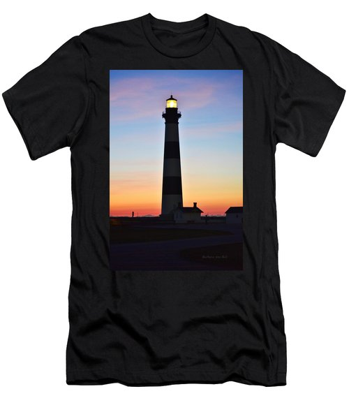 Bodie Lighthouse At Sunrise Men's T-Shirt (Athletic Fit)