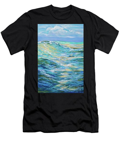 Bodysurfing North Men's T-Shirt (Athletic Fit)