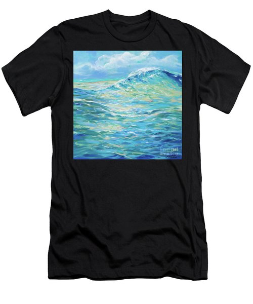 Bodysurfing Rolling Wave Men's T-Shirt (Athletic Fit)