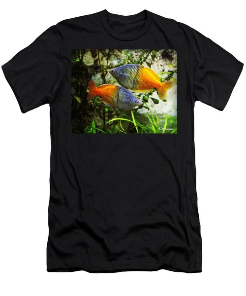 Boeseman's Rainbowfish Men's T-Shirt (Athletic Fit)