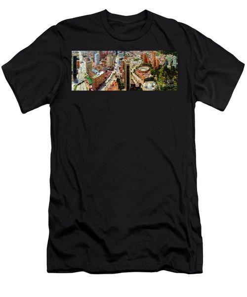 Bogota Colombia Men's T-Shirt (Athletic Fit)