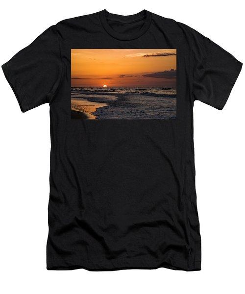 Bogue Banks Sunrise Men's T-Shirt (Athletic Fit)