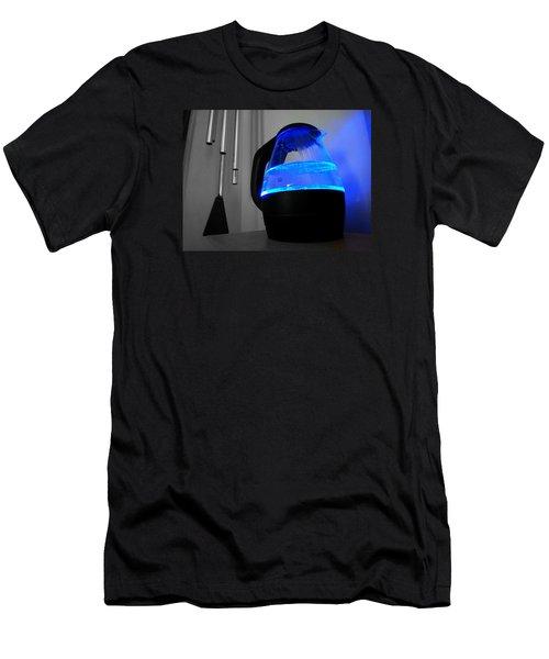 Boiling Blue Men's T-Shirt (Athletic Fit)