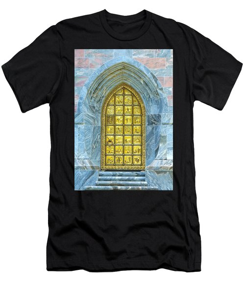 Bok Tower Entrance  Men's T-Shirt (Athletic Fit)
