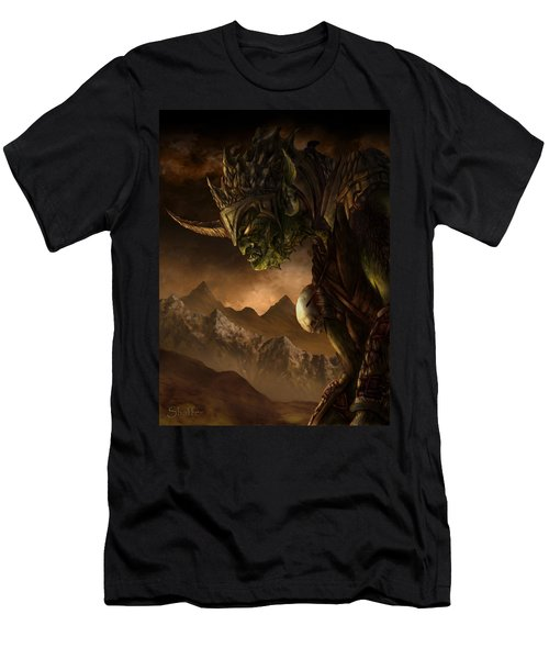 Bolg The Goblin King Men's T-Shirt (Athletic Fit)
