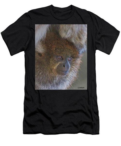 Bolivian Grey Titi Monkey Men's T-Shirt (Athletic Fit)
