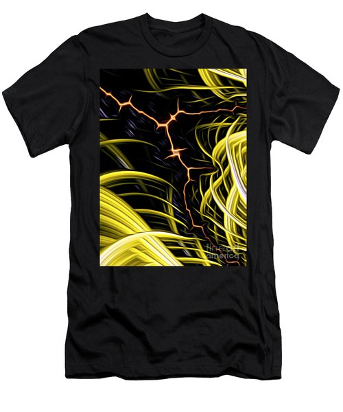 Bolt Through Men's T-Shirt (Athletic Fit)