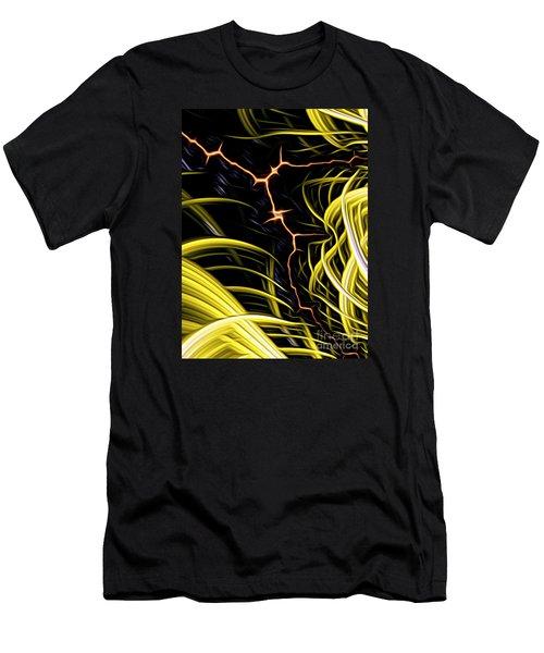 Bolt Through Men's T-Shirt (Athletic Fit)