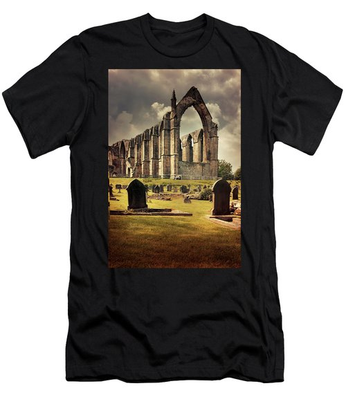Bolton Abbey In The Uk Men's T-Shirt (Slim Fit) by Jaroslaw Blaminsky