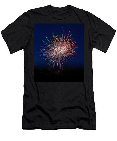 Bombs Bursting In Air Men's T-Shirt (Slim Fit)