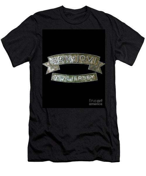 Bon Jovi New Jersey Men's T-Shirt (Athletic Fit)