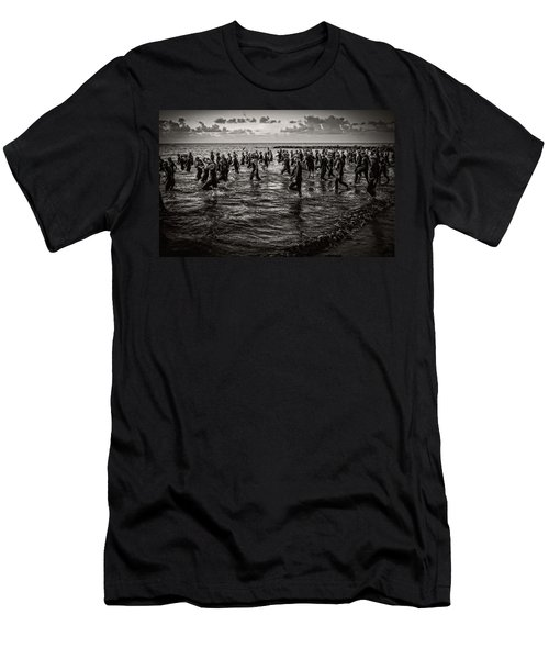 Bone Island Triathletes Men's T-Shirt (Athletic Fit)