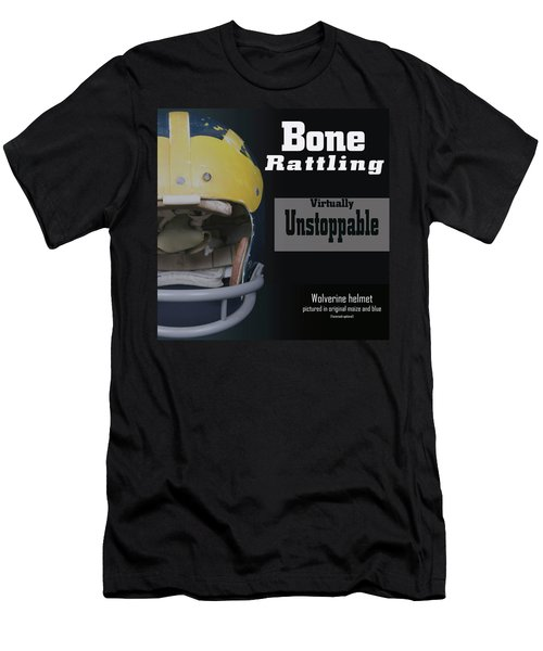 Bone Rattling Virtually Unstoppable Men's T-Shirt (Athletic Fit)