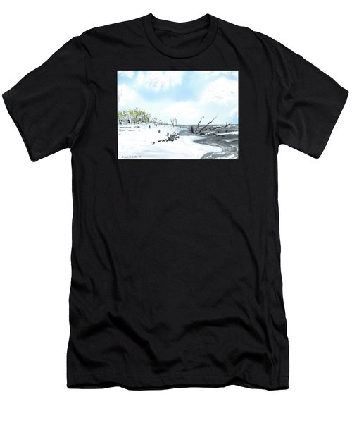 Bone Yard At Capers Island Men's T-Shirt (Athletic Fit)