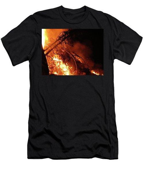 Bonfire Men's T-Shirt (Athletic Fit)