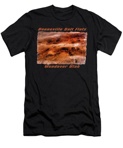 Bonneville Salt Flats Detail No. 2 Men's T-Shirt (Athletic Fit)
