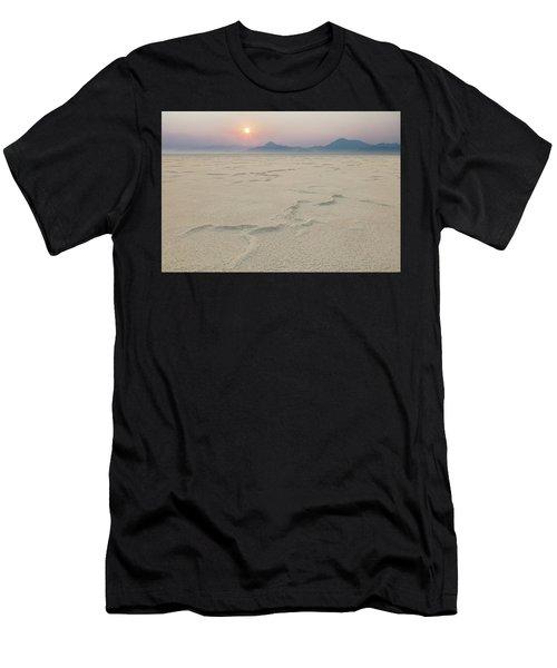 Bonneville Salt Flats Men's T-Shirt (Athletic Fit)