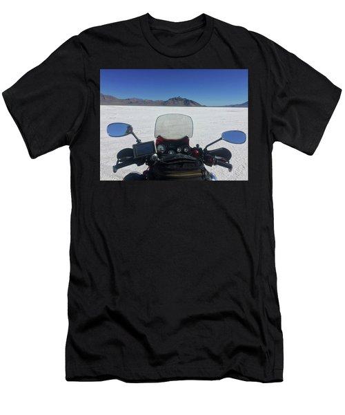 Bonneville Salt Flats. Men's T-Shirt (Athletic Fit)