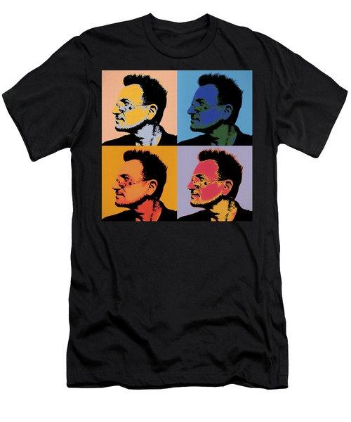 Bono Pop Panels Men's T-Shirt (Athletic Fit)