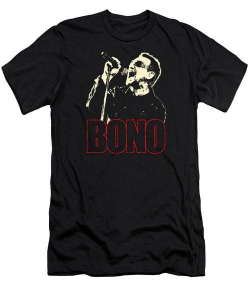 Bono Tour 2016 Men's T-Shirt (Slim Fit) by Gandi Rismawan