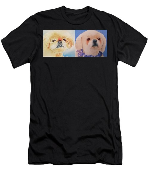 Booboo Baxter H Men's T-Shirt (Athletic Fit)