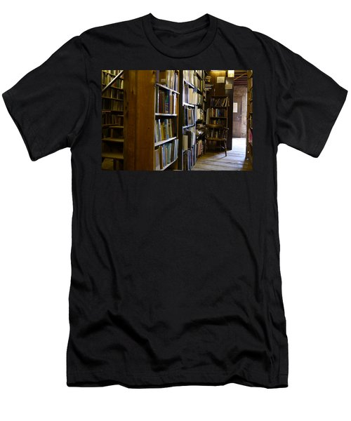 Baldwin's Book Barn Men's T-Shirt (Athletic Fit)
